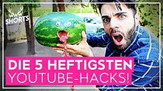 getlinkyoutube.com-DIE 5 HEFTIGSTEN YOUTUBE-HACKS! | TOP 5