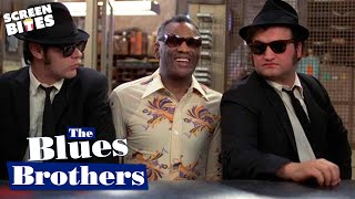 getlinkyoutube.com-The Blues Brothers - Ray Charles Shake Your Tail Feather OFFICIAL HD VIDEO