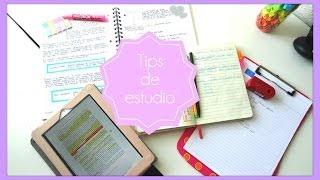 getlinkyoutube.com-Tecnicas de estudio -  saca buenas notas - Tips de estudio