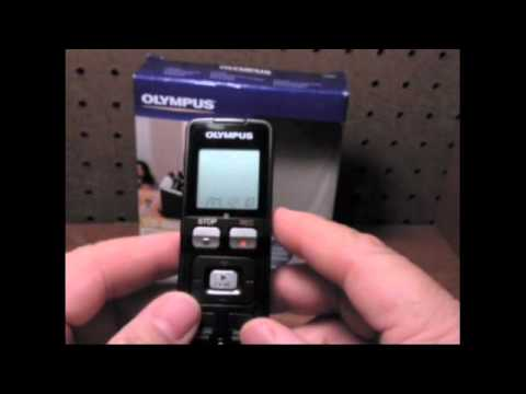 olympus digital voice recorder vn 7100 manual