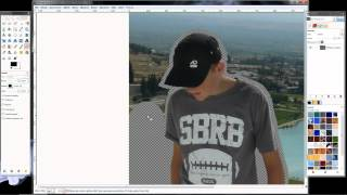 getlinkyoutube.com-Wycinanie tła z postaci w gimp-ie