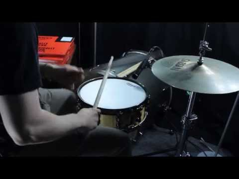 Evans Drumheads Snare Skin Comparison (7 different heads)