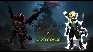 getlinkyoutube.com-Dragon Nest INA Dark Avenger VS Destroyer