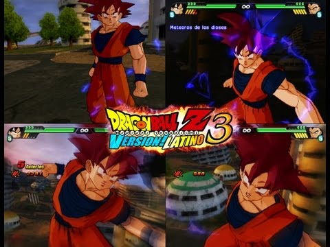 Dragon Ball Z Budokai Tenkaichi 3 Version Latino *Goku SSJ Dios vs Vegeta GT*