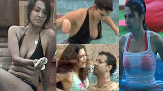 getlinkyoutube.com-Top Five Bikini Babes in' Bigg Boss'