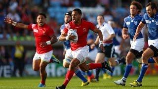 Tonga v Namibia - Match Highlights and Tries