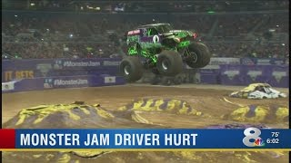 Video shows 'Grave Digger' injury incident at Tampa Monster Jam