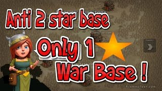 getlinkyoutube.com-BEST WAR BASE / ANTI 2 STAR / TH10 EPIC SPEED BUILD/ 2 AIR SWEEPERS