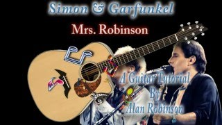 Mrs.  Robinson - Simon & Garfunkel - Acoustic Guitar Lesson (easy)