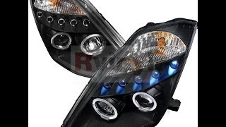 Spec-D Installation Video : 2003-2005 NISSAN 350Z Projector Headlights
