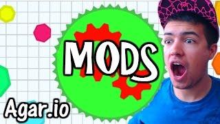 getlinkyoutube.com-Agar.io | NEW MODS! | Agario Hacks Mods Demo! - Agar.io Mods Are Epic! Gameplay Walkthrough Part #10