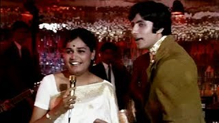 Listen To The Pouring Rain - Amitabh Bachchan & Aruna Irani - Bombay To Goa