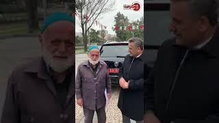 Mustafa amca söyledi Vali Kaymak dinledi