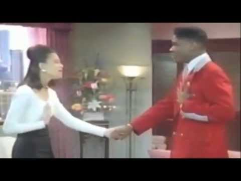 Tracie Spencer duets Tender Kisses with Eddie Winslow in Family Matters