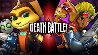 getlinkyoutube.com-Ratchet & Clank VS Jak & Daxter | DEATH BATTLE!