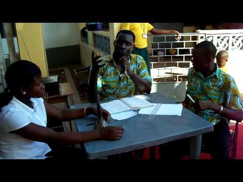 School Activities at Emmanuel School, Accra, Ghana - Quiz Show (Part 2)