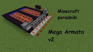 getlinkyoutube.com-Minecraft poradniki #33 Mega Armata v2 (60fps)