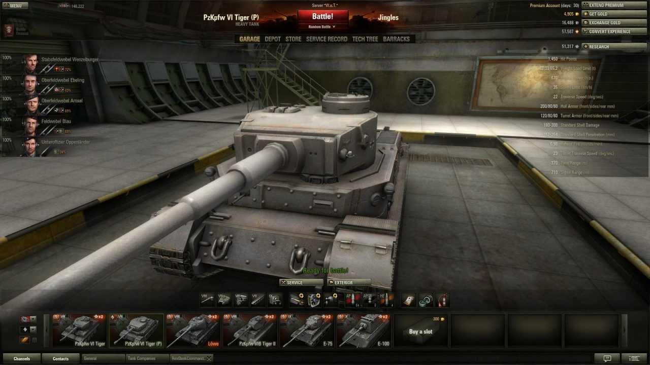 W.tiger World Of Tanks Brandon Rojo - Google