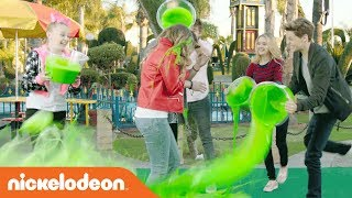 KCA Slime Theme Song w/ Jace Norman, Riele Downs & More 🎵 | Kids' Choice Awards | Nick