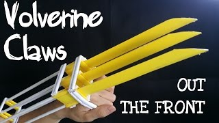 getlinkyoutube.com-How to make Paper Wolverine Claws that Work | OTF (out the front) Claws