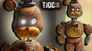 "TJOC:R ✔ IGNITED FREDDY (LED eyes/ojos LED) ""TUTORIAL"" -Porcelana fria ★ Polymer clay / Giovy'sHobby"