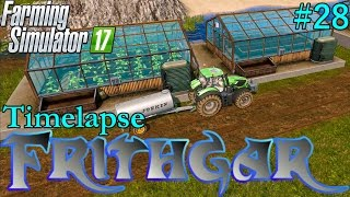 Farming Simulator 2017 Timelapse #28: More Baling And Greenhouses!