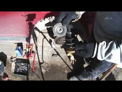 Демонтаж переднего амортизатора ... C4