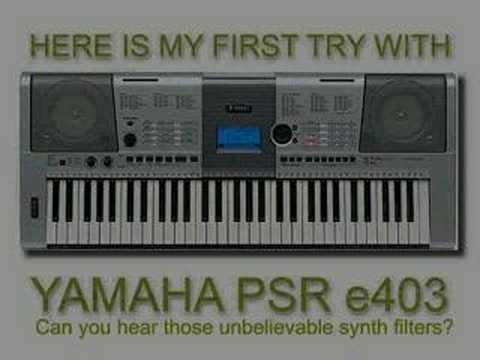 Yamaha Psr-E403 Driver