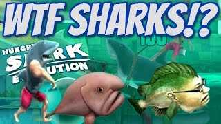 STRANGEST FISH EVER?! | Hungry Shark Evolution