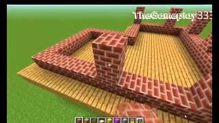 getlinkyoutube.com-Minecraft : Jak zrobić mały i ładny dom - Poradnik [#1]