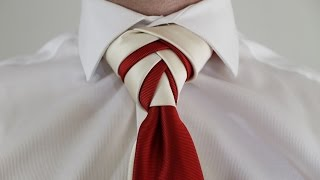 getlinkyoutube.com-How To Tie a Tie  Double Eldredge Knot