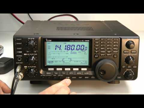 QST Product Review: ICOM IC-7410