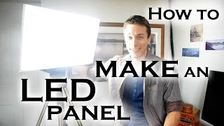 getlinkyoutube.com-How to make a super bright LED light panel (for video work etc)