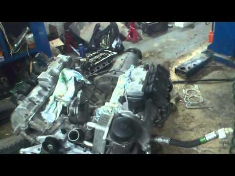 Мерседес w220 сборка мотора