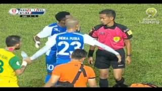 getlinkyoutube.com-Kedah vs Felda United Piala Malaysia 2015 (Kad Merah Indra Putra)