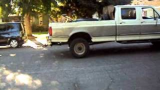 getlinkyoutube.com-Redneck Ford Pulling Beefed up Chevy