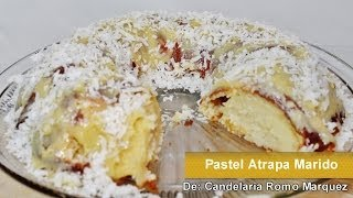 getlinkyoutube.com-PASTEL ATRAPA MARIDO -  RECETA FACIL - Catch A Husband Cake
