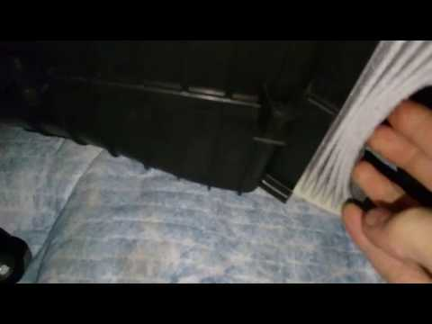 How to change cabin pollen filter on Toyota Aygo ... C1 Peugeot 107 and 108