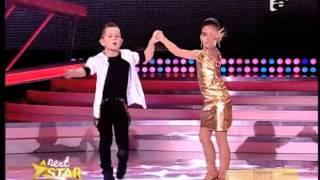 getlinkyoutube.com-Vezi cum dansează Cassius şi Alesia, la Next Star, în Finala de Popularitate!