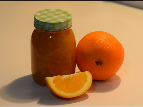 انجح طريقه لصنع مربى البرتقال