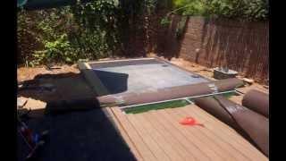 Amazing secret Hidden pool - the making of