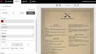 getlinkyoutube.com-How to Make a Restaurant Menu