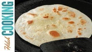 Tortilla Recipe - How To Make Homemade Flour Tortillas | Hilah Cooking Ep 20