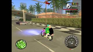 getlinkyoutube.com-Rolé De Pop 100 No Grau + Corte De Giro No Gta San