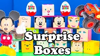 getlinkyoutube.com-SURPRISE BOXES Paw Patrol + Disney Frozen + Peanuts + Worlds Largest Candy + Toys  Video