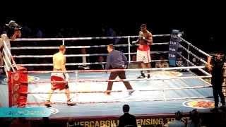 getlinkyoutube.com-FULL FIGHT - IZU UGONOH VS WILL QUARRIE - BRUTAL KNOCKOUT 2ND ROUND