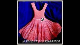 getlinkyoutube.com-Вяжем крючком - платье Ясмина