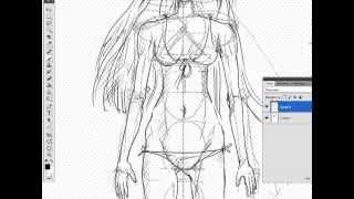 getlinkyoutube.com-Как рисовать аниме/манга. Урок 1.Балванчик (How to draw anime/manga. Lesson 1)