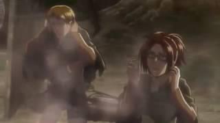 Female Titan Gets Eaten [English Dub]