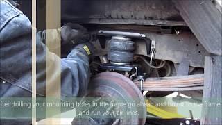 getlinkyoutube.com-Truck/ Suspension Airbag Installation (Firestone Ride Rite)